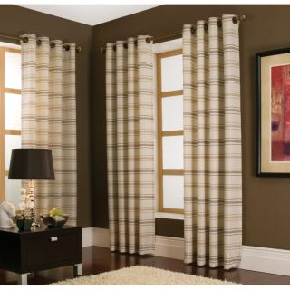 """allen + roth 84""""L Ivory Curtain Panel"""