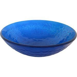 Novatto TIG 8079CH Mare Blu Chrome  Vessel Single Bowl Bathroom Sinks