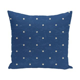 Surf, Sand, & Sea Dorothy Dot Geometric Throw Pillow by e by design