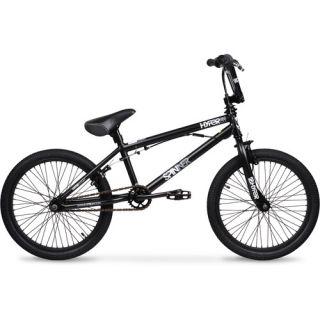 """20"""" Hyper Spinner Pro Boys' BMX Bike, Black"""