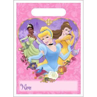 Disney Princess Fanciful Treat Sacks   Food & Grocery   Paper Goods