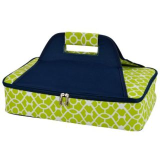 Picnic at Ascot Trellis Green Insulated Casserole Carrier (530 TG)