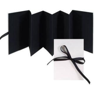 Lineco Accordion Album with Black Pages & BBHK113 P