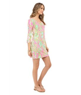 Lilly Pulitzer Palmetto Dress Flamingo Pink Southern Charm, Pink