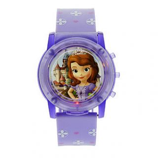 Disney Princess Sophia Flashing Musical LCD Watch   Jewelry   Watches