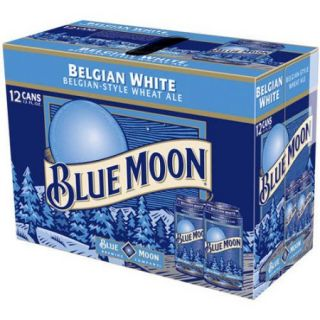 Blue Moon Belgian White Ale 12 12 fl. oz. Cans