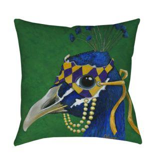 Thumbprintz You Silly Bird Tina Indoor/ outdoor Throw Pillow