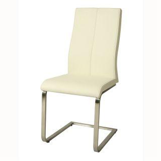 Pastel Furniture OL 110 SS Olander Side Chair in Stainless Steel
