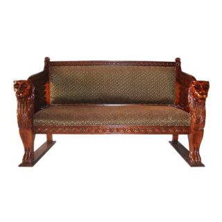 The Lord Raffles Settee Loveseat by Design Toscano