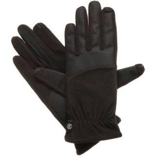 Essentials by Isotoner Women's smarTouch Matrix Nylon Fleece Glove