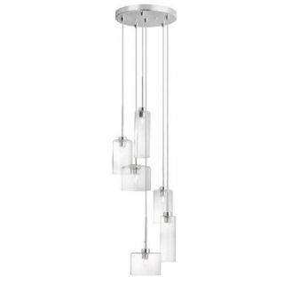 Dainolite Industrial Chic 6 Light Pendant