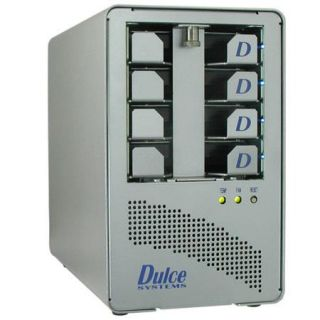 976 0200 0 Dulce Systems Dulce Systems PRO Q 2TB PCIe External Hard Drive Array with ExpressCard/34 Host Adapter