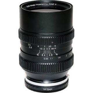 SLR Magic Cine 35mm T0.95 Mark II Lens SLR 3595M CINE II EFM
