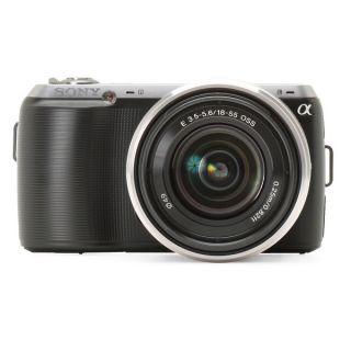 Sony Alpha NEX C3 16.2MP Black Digital SLR Camera with 18 55mm Lens