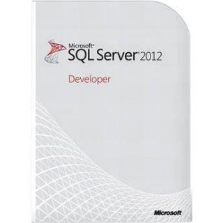 Microsoft SQL Server 2012 Developer Edition E32 00970