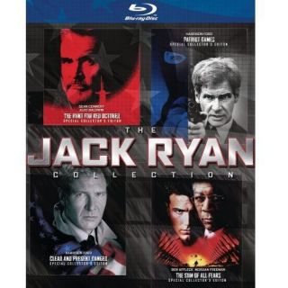 The Jack Ryan Collection   Patriot Games / Clear And Present Danger / The Hunt For Red October / The Sum Of All Fears (Blu ray) (Widescreen)