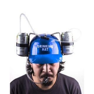 Beer/Soda Helmet Cap with Straws   Shopping   Big Discounts