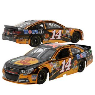 Tony Stewart No. 14 Action Racing 2014 Bass Pro Platinum Series Chevrolet SS 1:24 Scale Die Cast   Color Chrome