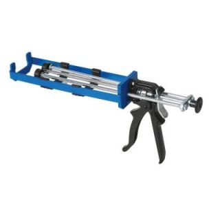 COX 12 oz. Total System 11 Mix Ratio Dual Cartridge Extra Thrust Epoxy Applicator Gun M180