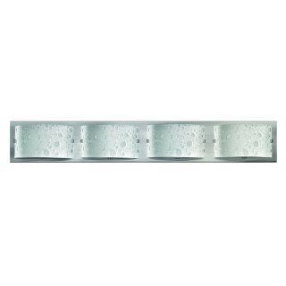 Hinkley Lighting 5924BN Daphne 4 Light Bathroom Fixture in Brushed Nickel