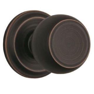 Brinks Home Security Stafford Tuscan Bronze Passage Push Pull Rotate Door Knob 23041 150