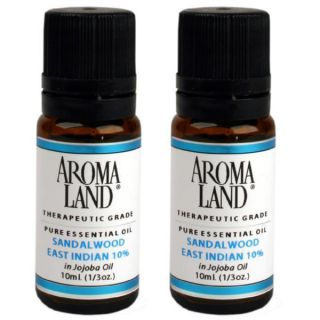 Aromaland Sandalwood East Indian 10 ml Essential Oils (Pack of 2