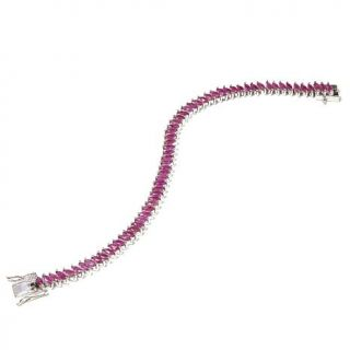 "Colleen Lopez ""Petals and Poetry"" 8.68ctw Thai Ruby Sterling Silver Marquise St   8122824"