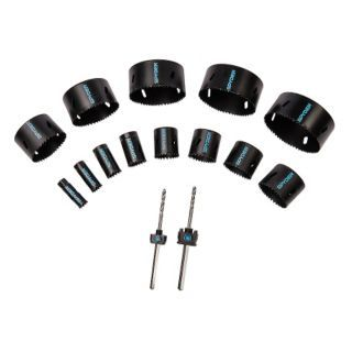 SPYDER  Kit para Sierra Perforadora,15 Piezas,1 3/4 In.   31LV92|600808   Grainger