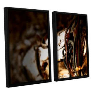 ArtWall Mark Rosss Mend 2 piece Floater Framed Canvas Set