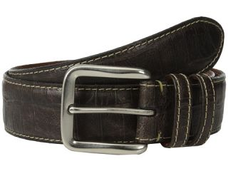 Torino Leather Co 40mm Croc Tail Embossed Calf W Nickel Buckle