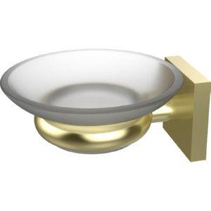 Allied Brass MT 62 SBR Montero Satin Brass  Soap Holders Bathroom Accessories