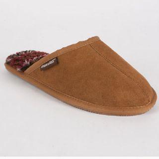 MUK LUKS Dave Printed Berber Suede Slippers