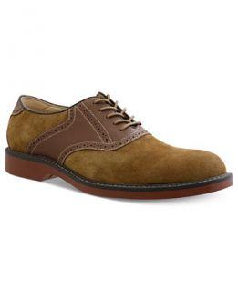Bass & Co. Pomona Plain Toe Saddle Lace Up Shoes   Shoes   Men