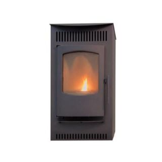 Castle 1,500 sq. ft. Pellet Stove with 40 lb. Hopper and Auto Ignition 12327