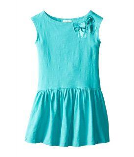 Kate Spade New York Kids Drop Waist Dress Big Kids Island Blue, Blue, Kate Spade New