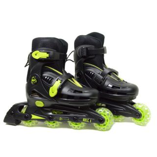 Ultra Wheels Micro Racer Adjustable Kids Yellow/ Black In line Skates