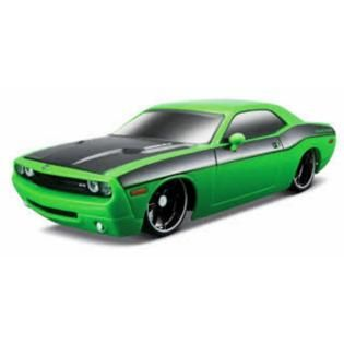 Maisto Tech Dodge Challenger 2006 Concept   Green   Toys & Games