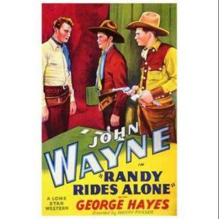 Randy Rides Alone Movie Poster (11 x 17)