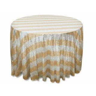 "Ya Ya Luxury Collection Duchess Stripped Sequin 120"" Tablecloths"