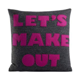 Alexandra Ferguson It Start With A Kiss Lets Make Out Throw Pillow
