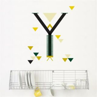 ADzif R100 LY Letter Y  Wall Decal Color Print