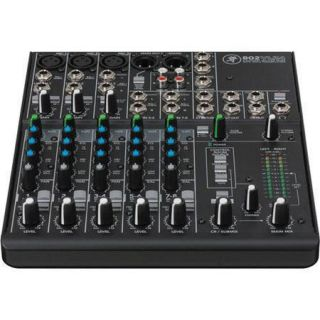 Mackie 8 Channel Ultra Compact Mixer, 3 Band EQ (80 Hz, 2.5 and 12 kHz) 802VLZ4