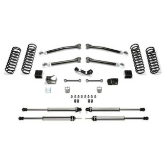 Fabtech   3 Inch Trail System with Dirt Logic 2.25 Non Resi Shocks   Fits 2007 to 2016 JK Wrangler Unlimited and Rubicon Unlimited
