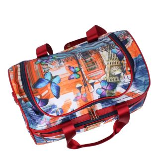 Jamie 17 Carry On Duffel by Nicole Lee