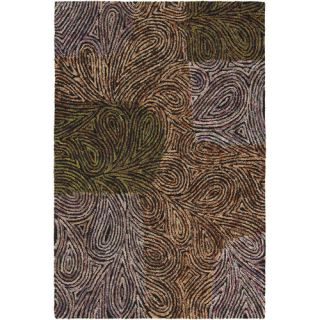 Chandra Rugs Twister Abstract Area Rug