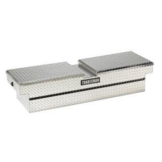 Tradesman Mid size Truck Aluminum Cross Bed Gull Wing Push Button Tool Box