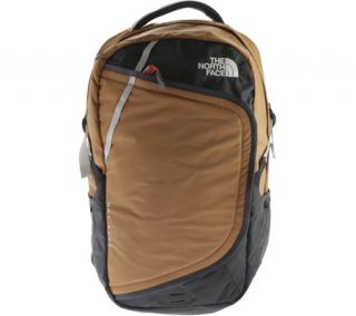 Mens The North Face Hot Shot Backpack   Dijon Brown/Poinciana Orange