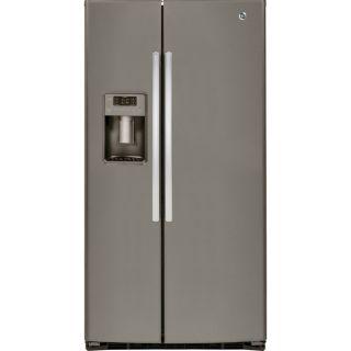 GE Energy Star 25.4 Cubic Feet Side by side Refrigerator   17393069