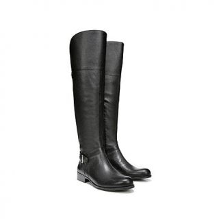 """Naturalizer """"July"""" Leather Over The Knee Riding Boot   Wide Calf   8211320"""
