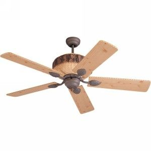 Monte Carlo MON 5GL52WI Great Lodge Weathered Iron  Ceiling Fans Lighting